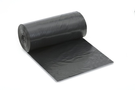 ValSkins High Density Trash Can Liners, 56 gal., 19 MIC, Black picture