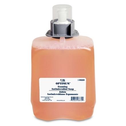 Optimum Foaming Antimicrobial Soap Refills, 2000 ml, Case of 2 picture