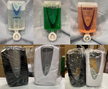 Hand Cleanliness Kit - Pallet of Hand Sanitizer, Hand Soap & Dispensers picture