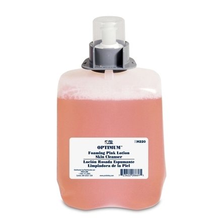 Optimum Foaming Pink Lotion Skin Cleanser Refills, 2000 ml, Case of 2 picture