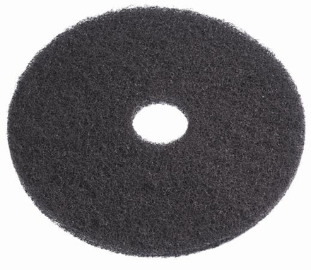 "BLK STRIP FLR PAD 7-3/4"" 5/CS picture"
