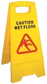 A-Frame Caution Wet Floor Sign