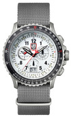 F-22 Raptor Flight Calculation Chronograph - Titanium - 9249