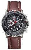F-22 Raptor Flight Calculation Chronograph - Titanium - 9247