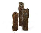 3 Piece Natural Basalt Columns
