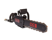 890F4-FL Hydraulic Powerhead 8 gpm with 1' hose whips
