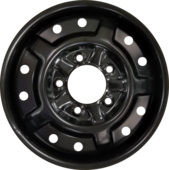 FOR UTV 26x9N14 (Bolt Pattern 5x4.5) Flat Black Hub