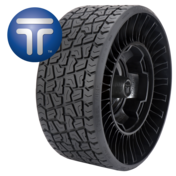 Airless Radial Tire for Golf Carts18x8.5N10 Comfort Version