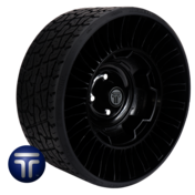 MICHELIN® X® TWEEL® TURF<br>Airless Radial Tire<br>for Golf Carts 18x8.5N10 (205/50N10)