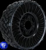 MICHELIN® X® TWEEL® Airless Radial Tire for UTVs / ATVs 26x9N14 (Bolt Pattern: 4x156mm)