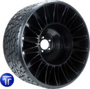 "MICHELIN® X® TWEEL® TURF   Airless Radial Tire<br>for Zero Turn Radius Mowers 26x12N12 (5x4.5"" Bolt)"