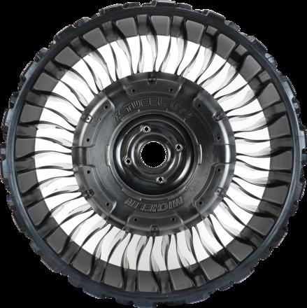 ATV 26x9N14 (Bolt pattern 4x110 mm) Flat Black Hub picture