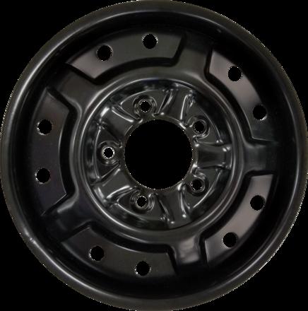 FOR UTV 26x9N14 (Bolt Pattern 5x4.5) Flat Black Hub picture