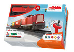 """Marklin My World """"Freight Train"""" Battery Starter Set with Plastic Track & Rechargeable Battery"""
