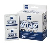 ZEISS Disposable Lens Wipes, 60-ct