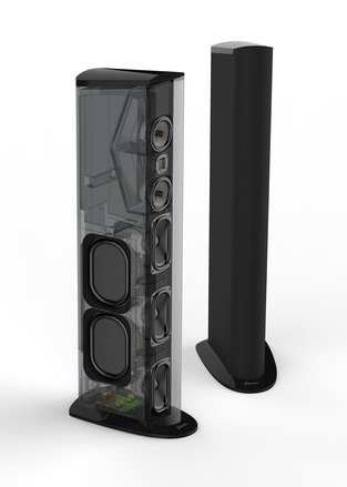Triton One Floorstanding Tower Loudspeaker with Built-In 1600 Watt Powered Subwoofer (ea) picture