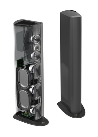 Triton One.R Floorstanding Tower Loudspeaker with Built-In 1600 Watt Powered Sub (ea) picture