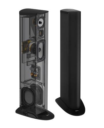 Triton Three+ Floorstanding Tower Loudspeaker with Built-In 800 Watt Powered Subwoofer (ea) picture