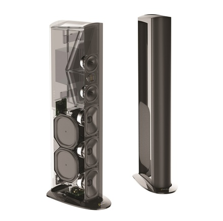 Triton Reference Floorstanding Tower Loudspeaker with Built-In 1800 Watt Powered Subwoofer picture