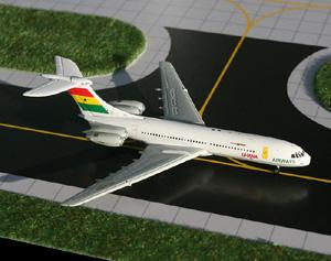 GeminiJets 1:400 Ghana Airways Standard VC-10 picture