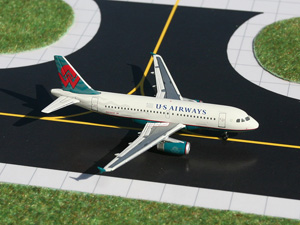 GeminiJets 1:400 US Airways A319 (America West Teal Retro C/S) picture