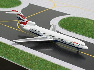 GeminiJets 1:400 British Airways 727-200 picture