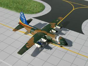 GeminiMACS 1:400 Belgian Air Force C-130 picture