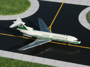 GeminiJets 1:400 Pakistan International Hawker Siddeley Trident 1E picture