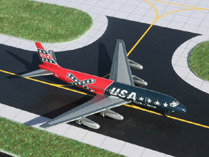 GeminiJets 1:400 Overseas National Airways DC-8-21 'Confederate livery' picture