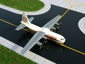 GeminiJets 1:400 Alaska Airlines L-100 Hercules picture