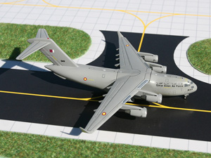 GeminiMACS 1:400 Qatar Air Force C-17 picture