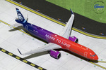 """GeminiJets 1:400 Alaska Airlines Airbus A321neo """"More to Love"""""""