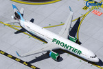 """GeminiJets 1:400 Frontier Airbus A321 """"Steve the Eagle"""""""