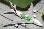 "GeminiJets 1:400 Emirates Airbus A380-800 ""Green Expo 2020"""