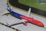 """Gemini200 Alaska Airlines 737-900 """"More to Love"""""""