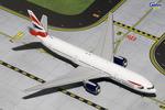 GeminiJets 1:400 British Airways 777-200ER