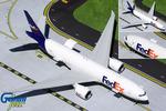 Gemini200 FedEx Boeing 777F (Optional Doors Open/Closed Config)