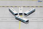 "GeminiJets 1:400 US Airways Cobus 3000 ""Greener"" (4 pack)"