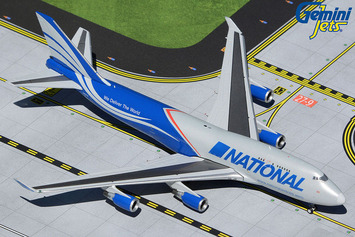 GeminiJets 1:400 National Airlines Boeing 747-400BCF picture