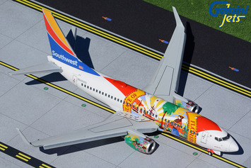 """Gemini200 Southwest Airlines Boeing 737-700 """"Florida One"""" (Flaps/Slats Extended) picture"""