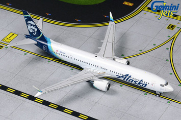 GeminiJets 1:400 Alaska Airlines Boeing 737 MAX 9 picture