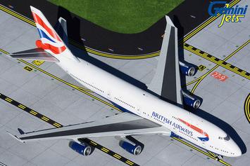 GeminiJets 1:400 British Airways Boeing 747-400 picture