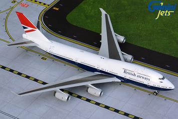 """Gemini200 British Airways Boeing 747-400 """"Negus Retro"""" picture"""