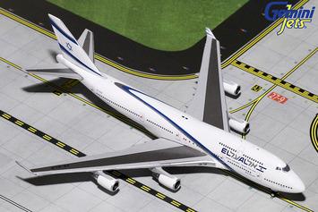 GeminiJets 1:400 El Al Boeing 747-400 picture