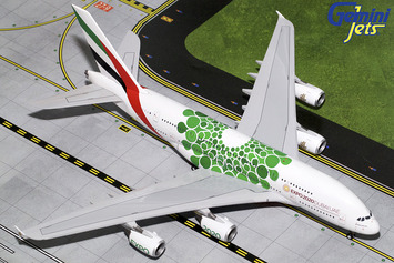 "Gemini200 Emirates Airbus A380-800 ""Green Expo 2020"" picture"