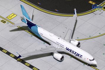GeminiJets 1:400 Westjet Boeing 737 MAX 8 picture