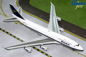 "GeminiJets 1:400 British Airways Boeing 747-400 ""BOAC Retro"" picture"