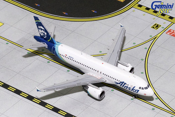 GeminiJets 1:400 Alaska Airlines Airbus A320-200 picture