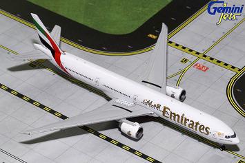 "GeminiJets 1:400 Emirates 777-300ER ""Expo 2020"" picture"