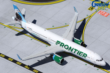"GeminiJets 1:400 Frontier Airbus A321 ""Steve the Eagle"" picture"